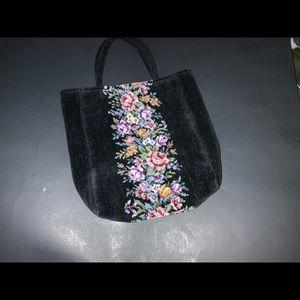 Small Vintage Floral Purse